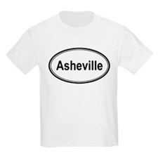 Asheville (oval) T-Shirt