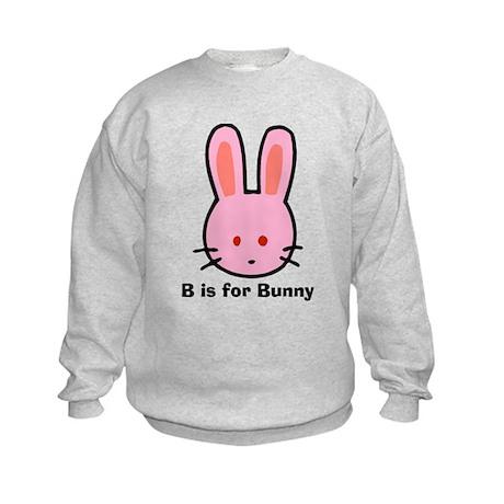 B is for Bunny Kids Sweatshirt