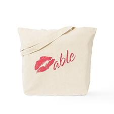 Kissable Valentine Tote Bag