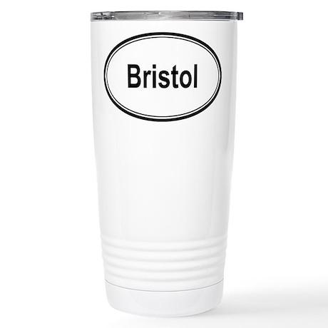 Bristol (oval) Stainless Steel Travel Mug