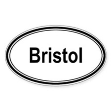 Bristol (oval) Oval Decal