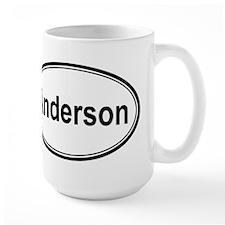 Anderson (oval) Mug