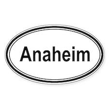 Anaheim (oval) Oval Sticker (10 pk)