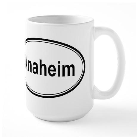 Anaheim (oval) Large Mug