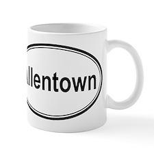 Allentown (oval) Mug
