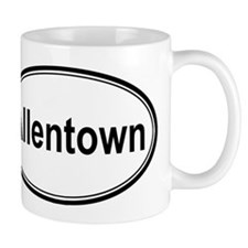 Allentown (oval) Small Mugs