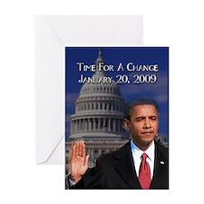 Pres. Obama Greeting Card