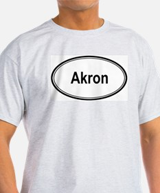 Akron (oval) T-Shirt