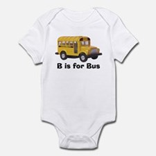 B is for Bus Infant Bodysuit