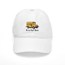 B is for Bus Baseball Cap