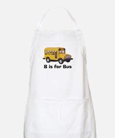 B is for Bus BBQ Apron