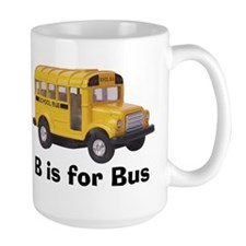 B is for Bus Mug