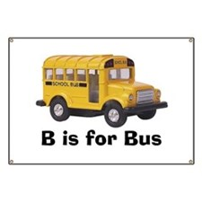 B is for Bus Banner