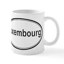 Luxembourg (oval) Mug