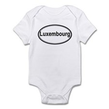 Luxembourg (oval) Infant Bodysuit