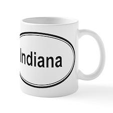 Indiana (oval) Mug