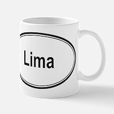 Lima (oval) Mug