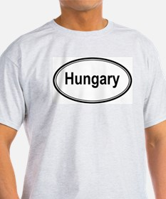 Hungary (oval) T-Shirt