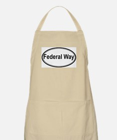 Federal Way (oval) BBQ Apron