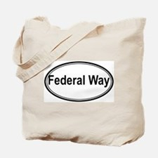 Federal Way (oval) Tote Bag