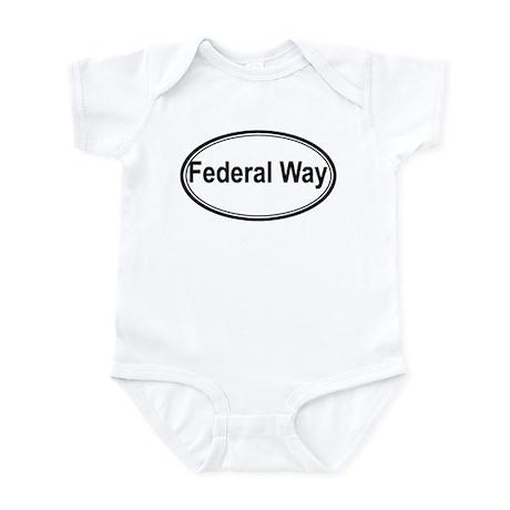 Federal Way (oval) Infant Bodysuit