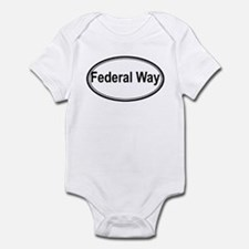 Federal Way (oval) Infant Bodysuit