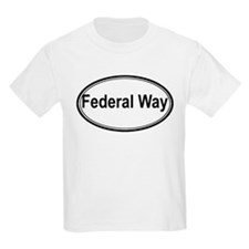 Federal Way (oval) T-Shirt