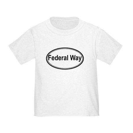 Federal Way (oval) Toddler T-Shirt