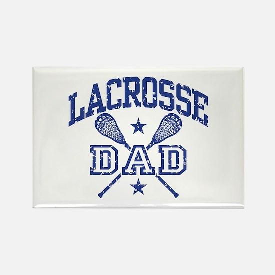 Lacrosse Dad Rectangle Magnet