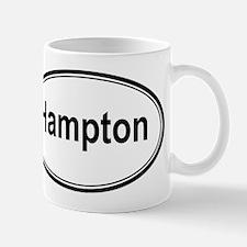 Hampton (oval) Mug