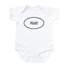 Haiti (oval) Infant Bodysuit