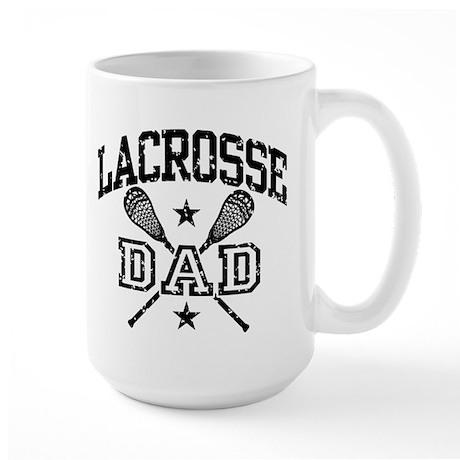 Lacrosse Dad Large Mug