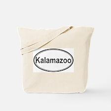 Kalamazoo (oval) Tote Bag