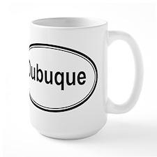 Dubuque (oval) Mug