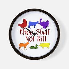 Thou Shalt Not Kill Wall Clock