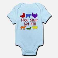 Thou Shalt Not Kill Infant Bodysuit