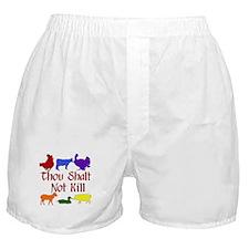 Thou Shalt Not Kill Boxer Shorts