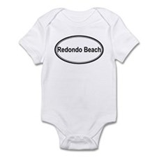 Redondo Beach (oval) Infant Bodysuit