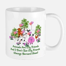 Shaw Anti-Meat Quote Mug