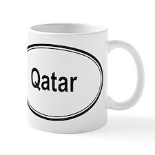 Qatar (oval) Mug