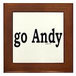 go Andy Framed Tile