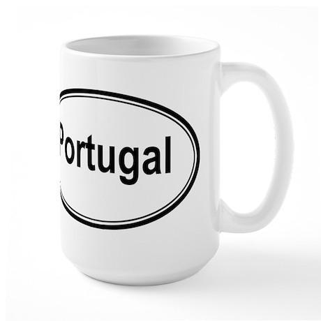 Portugal (oval) Large Mug