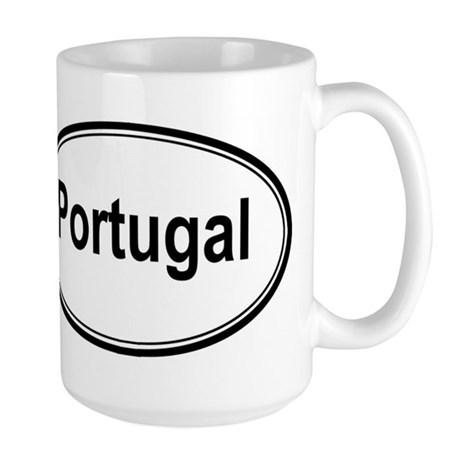 Portugal (oval) Large Mug