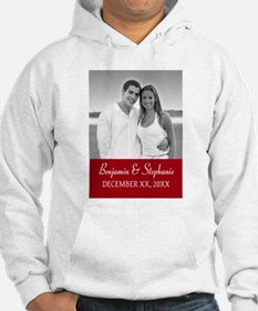 Wedding Photo Red Sweatshirt