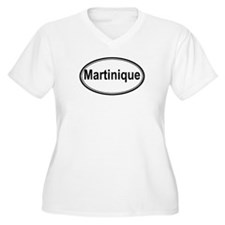 Martinique (oval) T-Shirt
