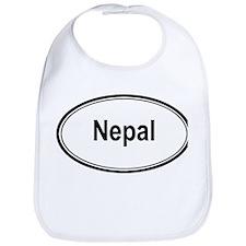 Nepal (oval) Bib