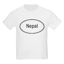 Nepal (oval) T-Shirt