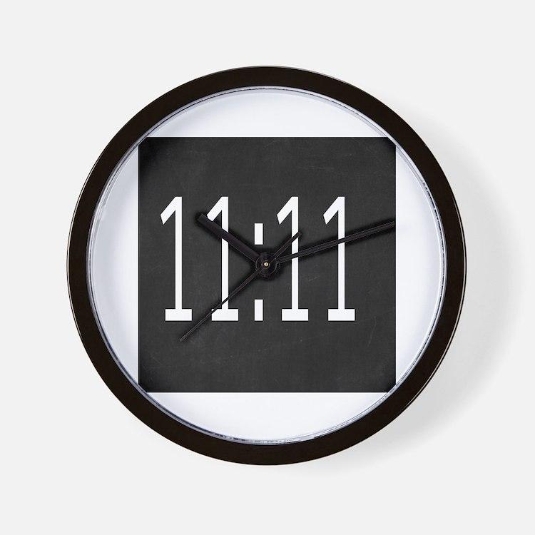 Cute 1111 Wall Clock