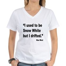 Mae West Snow White Quote (Front) Shirt