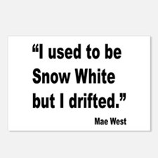 Mae West Snow White Quote Postcards (Package of 8)